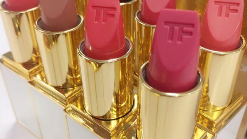 TOM FORD限量白管唇膏,台灣搶到八色當常賣