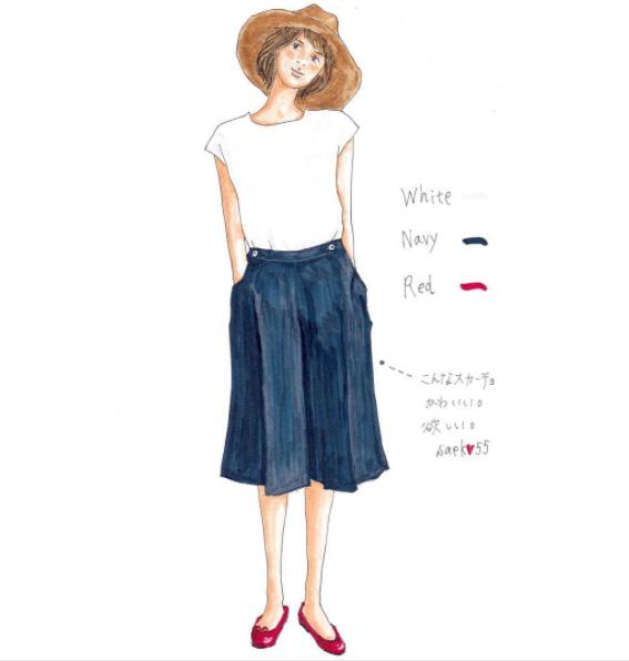 「日系文青風」穿搭插畫,襯衫靈感一秒GET!